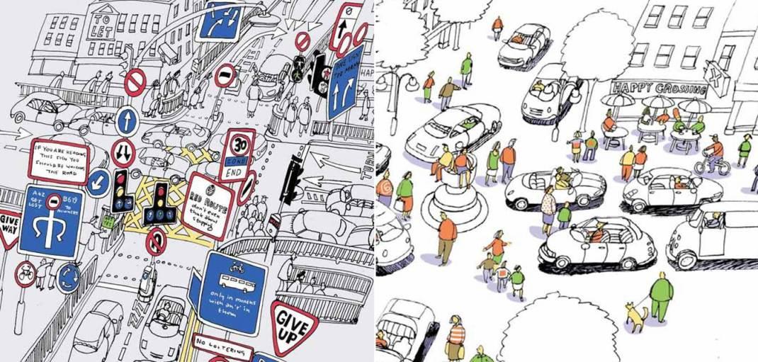 Una explicación de como devolver el espacio urbano a la responsabilidad de los usuarios...