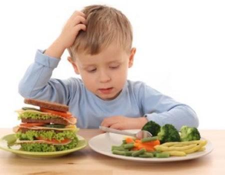 Educación del buen comer contra tentación