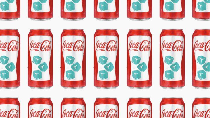 El fabulosa diseño de las nuevas latas de Coca.
